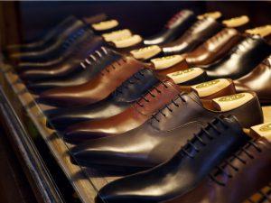 Schoenen met schoenspanners